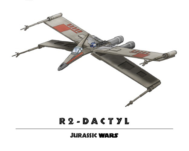 Jurassic Wars R2-Dactyl