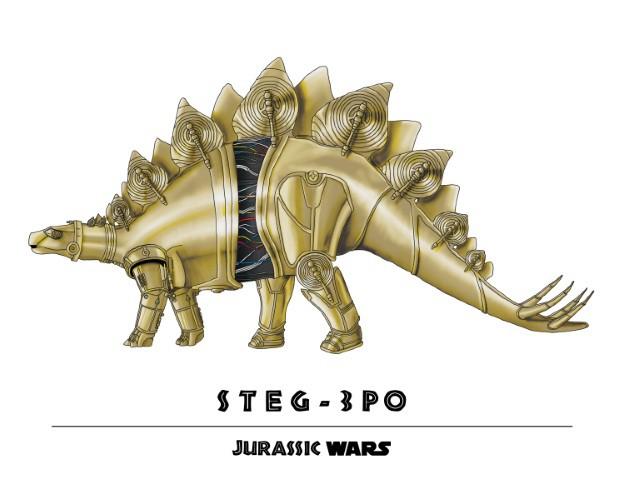 Jurassic Wars Steg-3PO