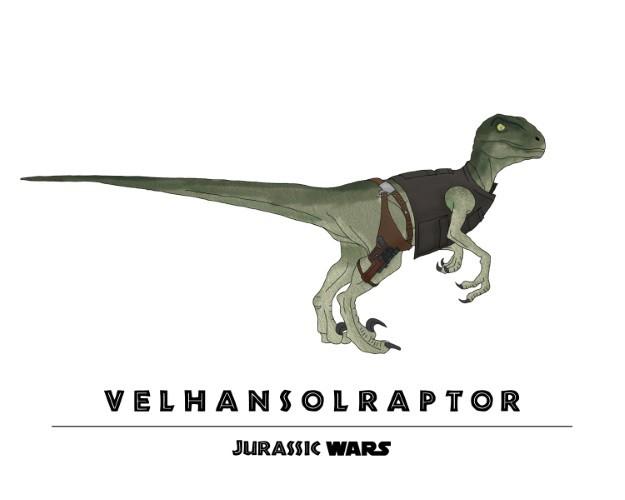 Jurassic Wars VelHanSolRaptor