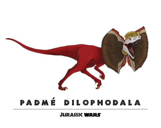 Jurassic Wars Padme Dilophodala