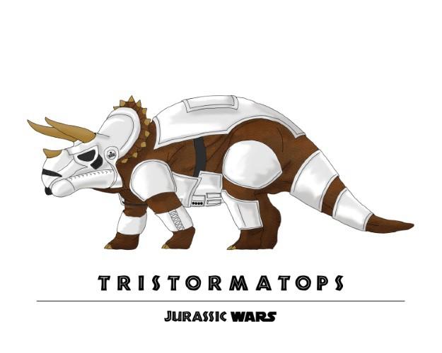 Jurassic Wars Tristormatops