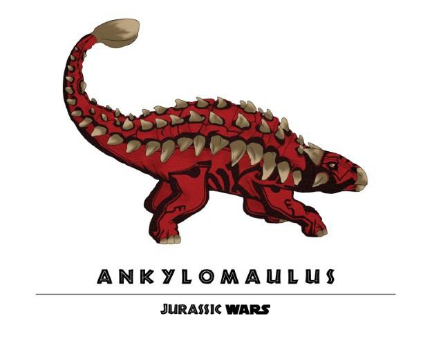 Jurassic Wars Ankylomaulus