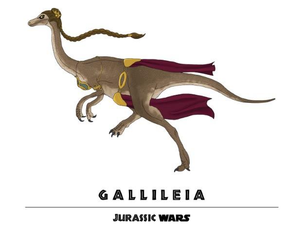 Jurassic Wars Gallileia