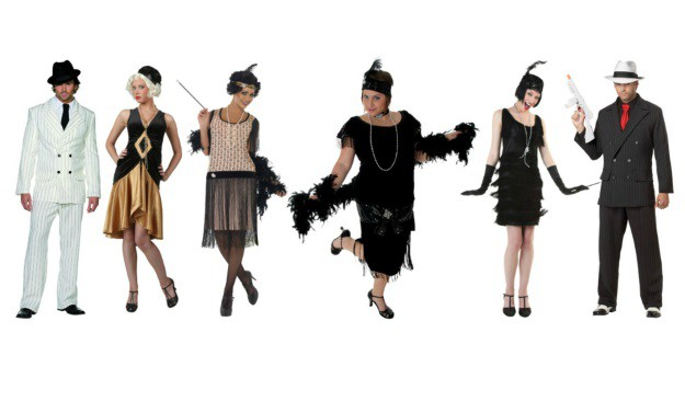Group Halloween Costume Ideas Costumes Through Time  sc 1 st  Meningrey : roaring twenties costumes ideas  - Germanpascual.Com