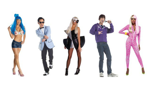 Pop Stars Group Costume