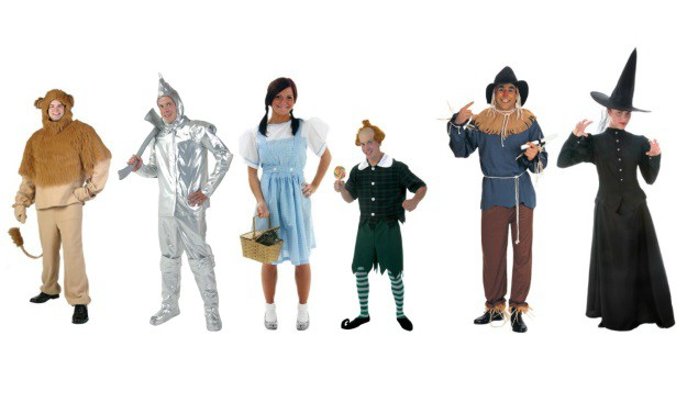 The Wizard of Oz Group Costume  sc 1 st  Halloween Costumes & Group Halloween Costume Ideas: Costumes through Time - Halloween ...