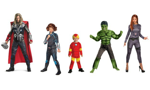 Avengers Group Costumes