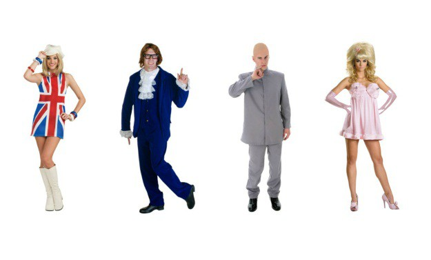 Austin Powers Group Costume