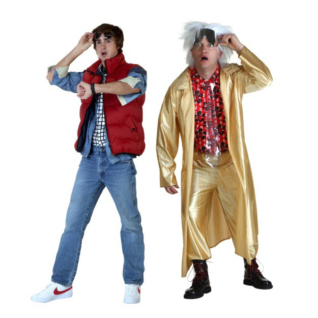Back to the Future Marty and Doc Costume