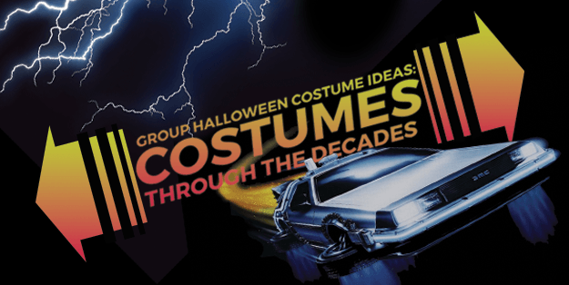 Group Halloween Costumes Through Time