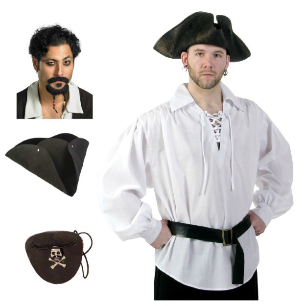 Quick and Easy Pirate Costume  sc 1 st  Halloween Costumes : basic pirate costume  - Germanpascual.Com