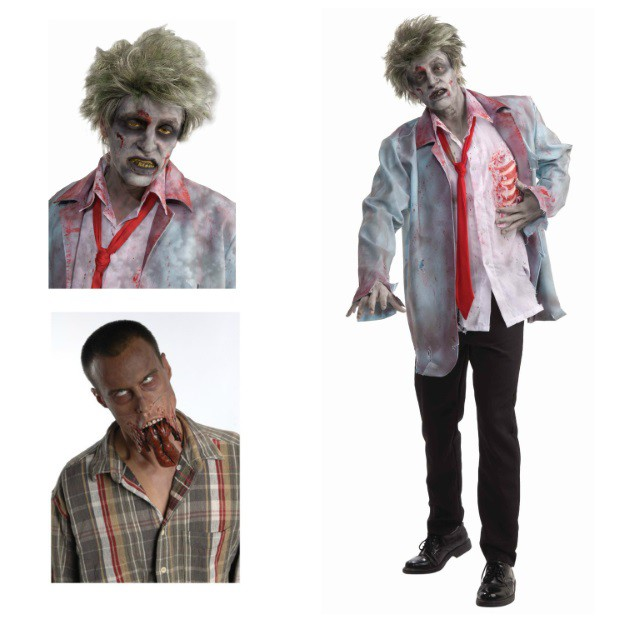 Quick and easy zombie costume
