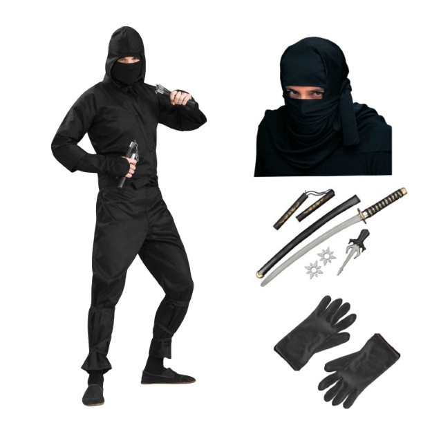 Quick and easy ninja costume