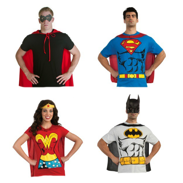 Quick and easy superhero costumes  sc 1 st  Halloween Costumes & 10 Quick and Easy Halloween Costume Ideas - Halloween Costumes Blog