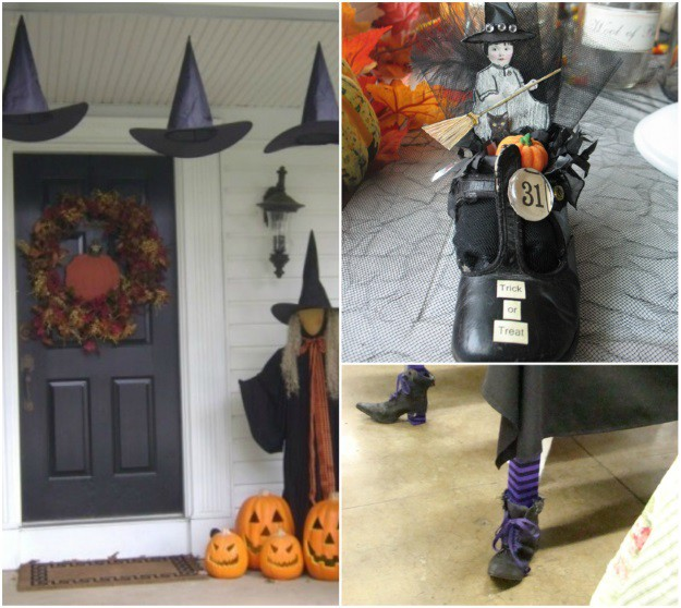 witch halloween decorations - Halloween Decorations Witches