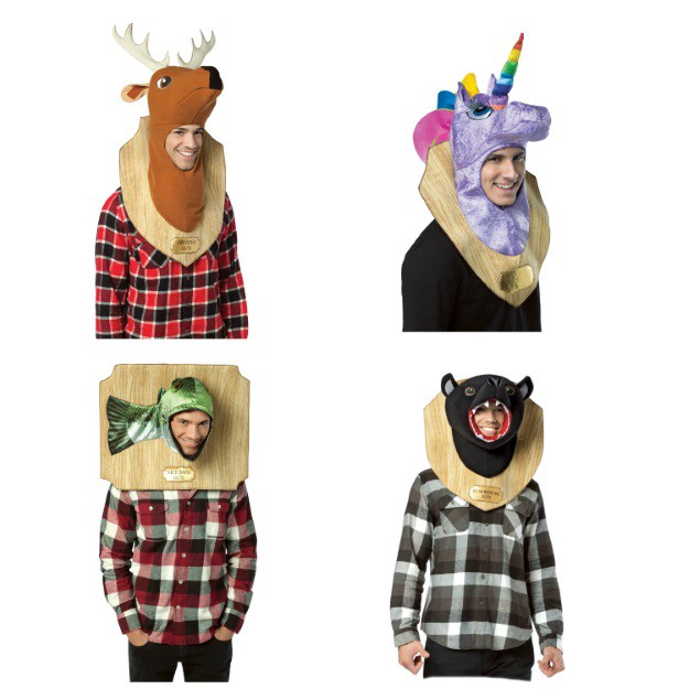 Funny Trophy Head Halloween Costumes