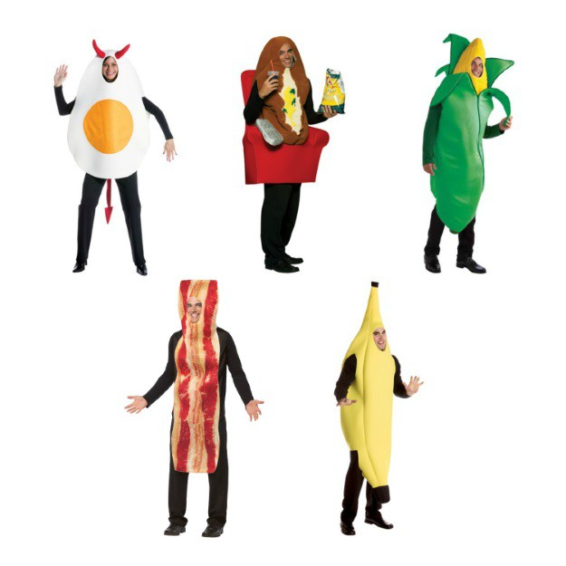 Funny Food Halloween Costumes