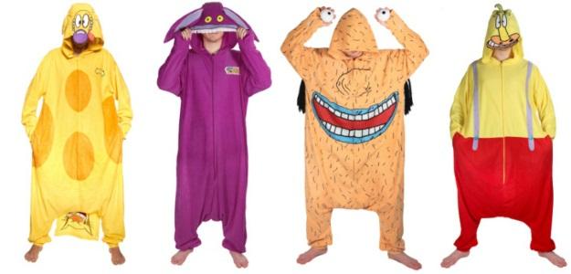 Nostalgic Halloween Costumes 90s Nickelodeon Shows