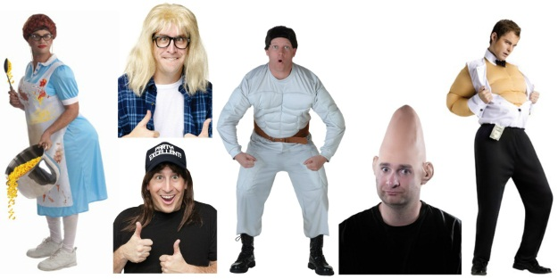 Nostalgic Halloween Costumes Saturday Night Live
