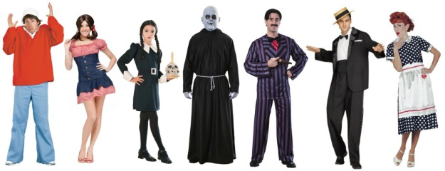 Nostalgic Halloween Costumes Classic TV Shows