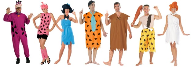 Nostalgic Halloween Costumes Flintstones