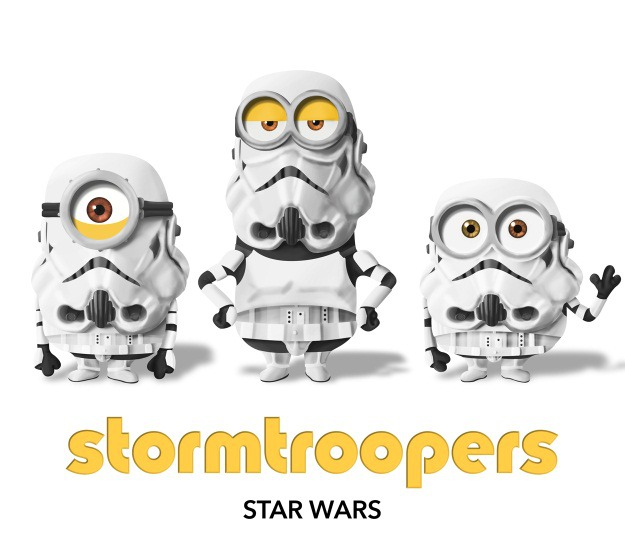 Minions as Stormtroopers
