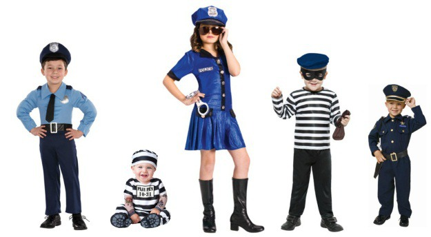 Cops and Robbers Kids Costumes.jpg  sc 1 st  Halloween Costumes & Creative Group Halloween Costumes for Kids - Halloween Costumes Blog