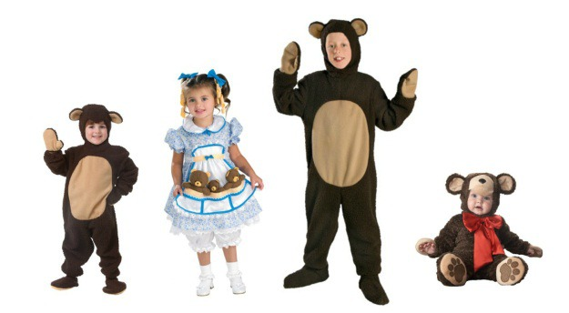 goldilocks kids costumesjpg - Goldilocks Halloween Costumes