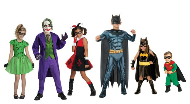 Batman Group Costumes  sc 1 st  Halloween Costumes : batman halloween costume for girls  - Germanpascual.Com