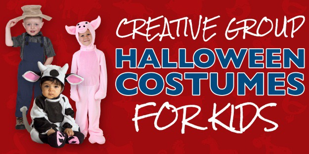 Creative Group Halloween Costumes for Kids