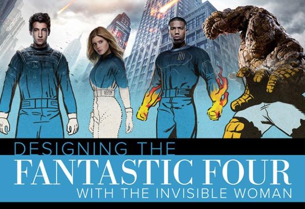 Fantastic Four Evolution Header