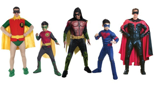 Robin Costumes and Nightwing Costumes