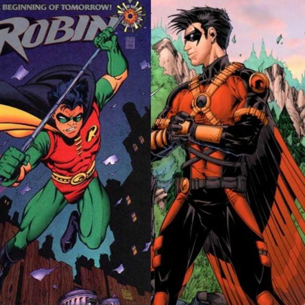 Tim Drake Robin Red Robin