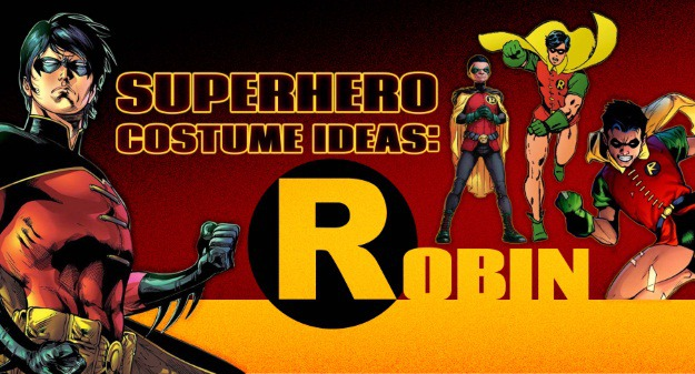 Superhero Costume Ideas: Robin