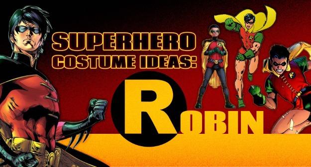 Superhero Costume Ideas: Robin