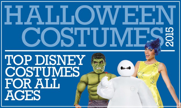 Top Disney Costumes 2015