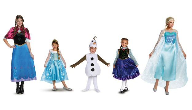 Disney Costumes Frozen