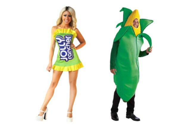 Candy Corn Couples Costume