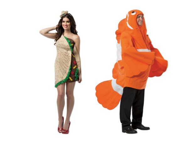 Fish Taco Couples Costume