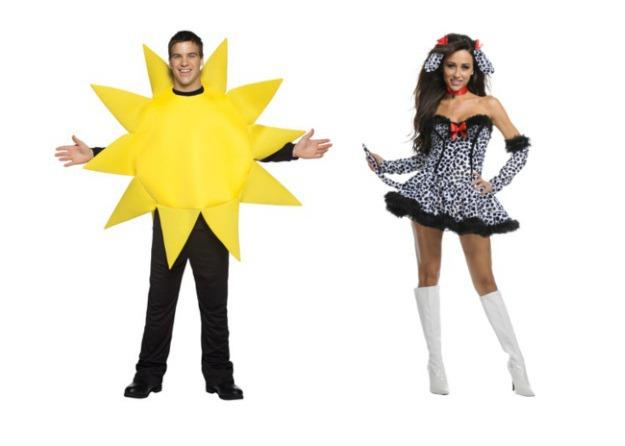 Hot Dog Couple Costume