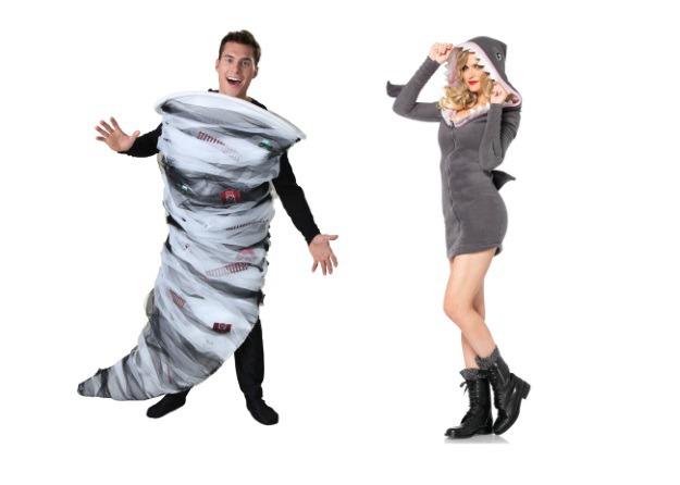 Sharknado Couples Costume