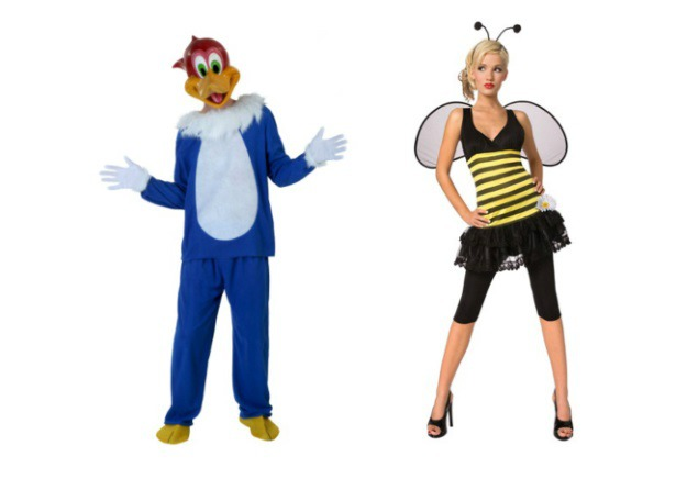 Birds and the Bees Couple Costume