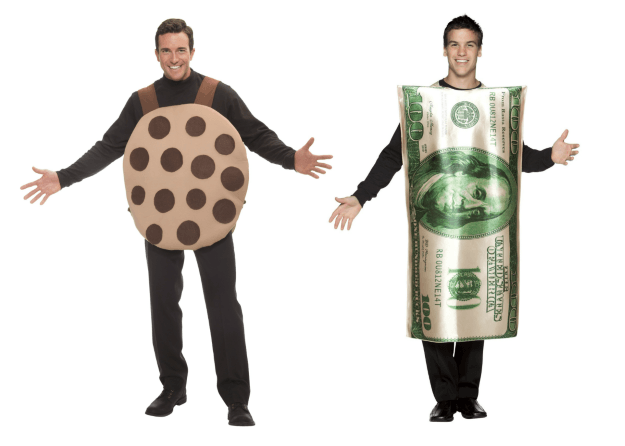 Cookie Dough Couple Costume
