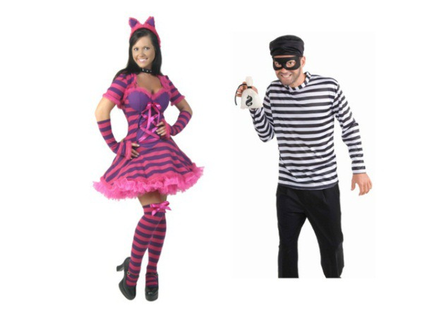 Cat Burglar Couple Costume