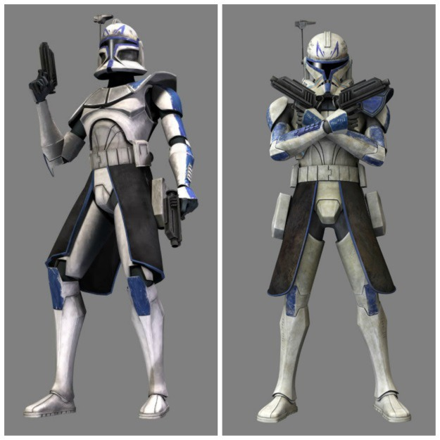 Captain Rex Phase I and Phase II