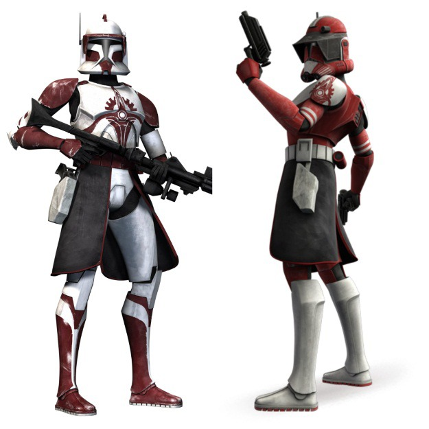 Commander Fox Phase 1 and Phase 2