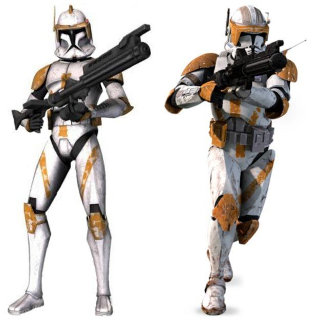 Commander Cody Armor Phase I Phase II