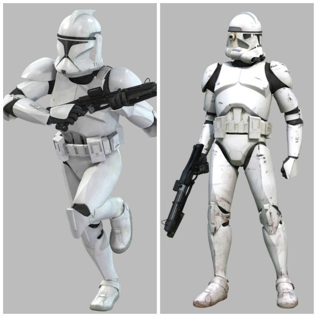 Clone Troopers Armor