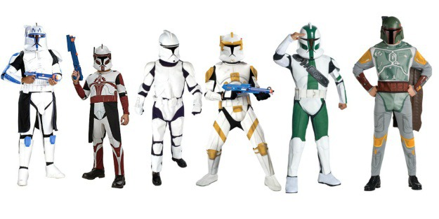 Star Wars Costume Ideas Clone Army