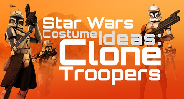 Star Wars Costume Ideas Clone Troopers